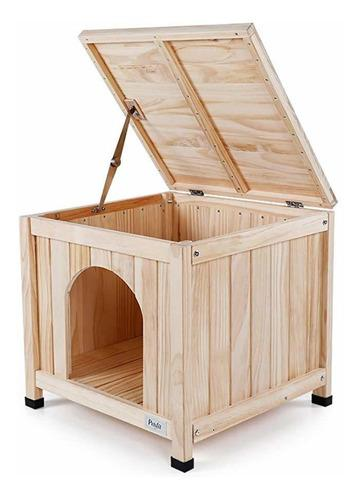 Casa en madera para mascota