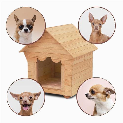 Casa perros madera shih tzu o pomeriana energy plus