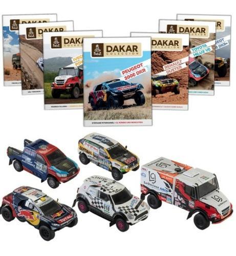 Coleccion rally dakar el tiempo 16 carros escala 1:43