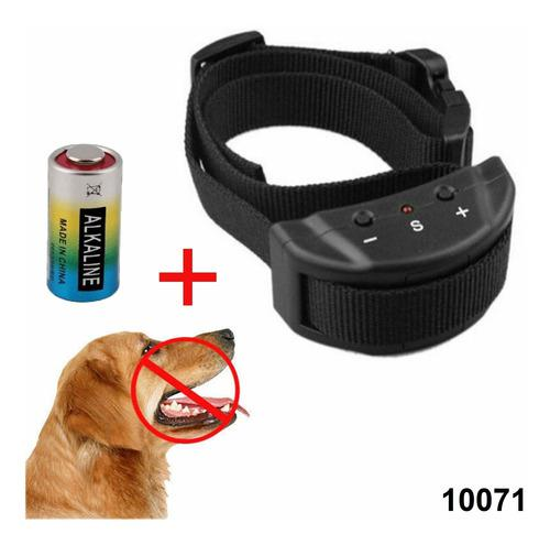 Collar antiladridos perros anti ladrido envio +pila w02