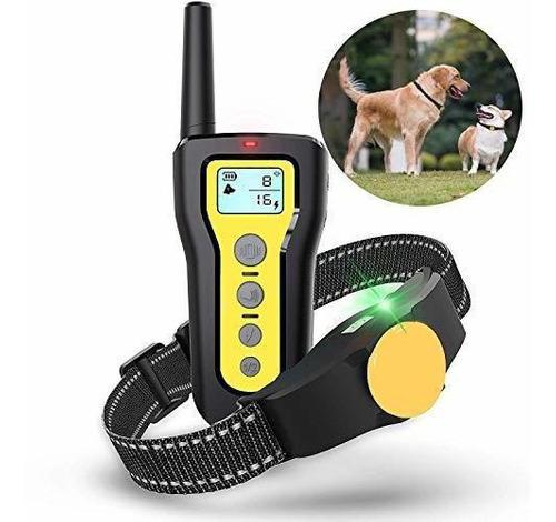 Collar de entrenamiento para perros ejeas impermeable 1000 p