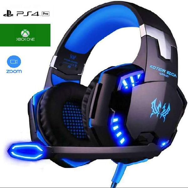 Diadema audifonos auriculares gamer ps4 xbox one pc juegos