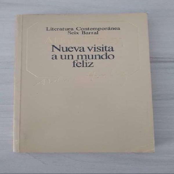 """Libro """"Nueva visita aun mundo feliz"""" De segunda, excelente"""