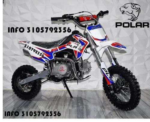 Moto enduro pit bike motocross polar plr 50 70 90 110 125cc