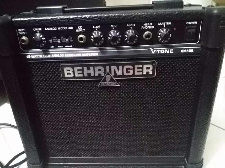 Se vende amplificador de 15 watts. negociable