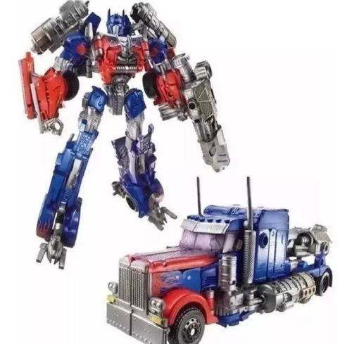 Transfomer optimus prime robot juguete camion
