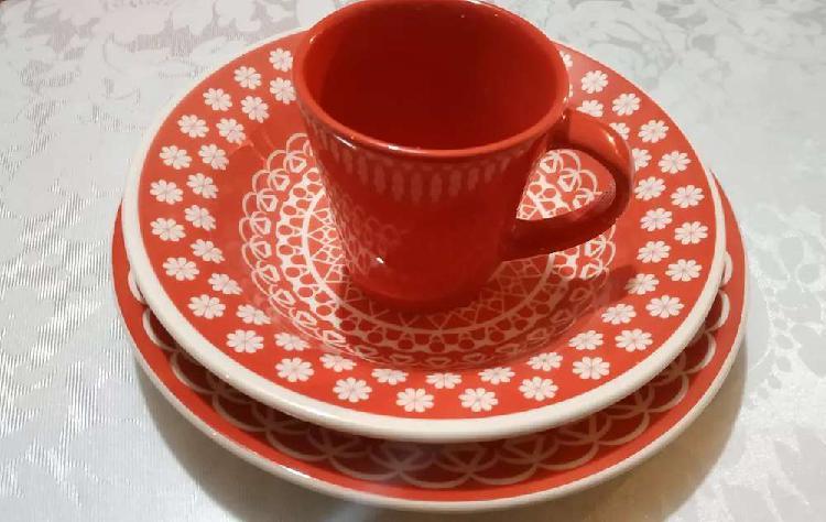 Vajilla en cerámica
