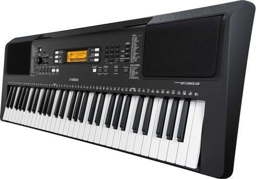 Combo organeta yamaha psr-e 363 base+ forro+ pedal expomusic