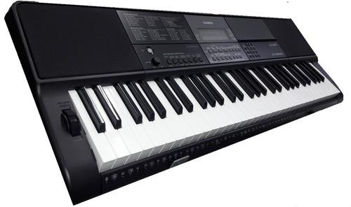 Organeta casio ct-x 800 + base + ad + forro - expomusic
