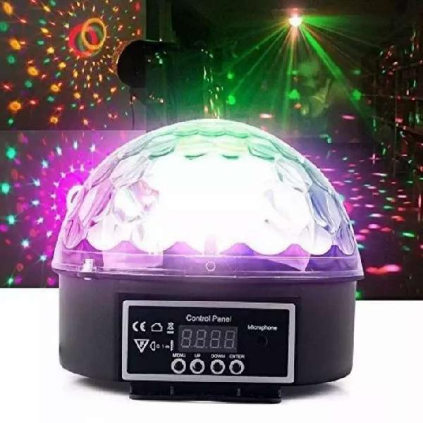 Par led bola estrober audioritmico multicolor dmx magic ball