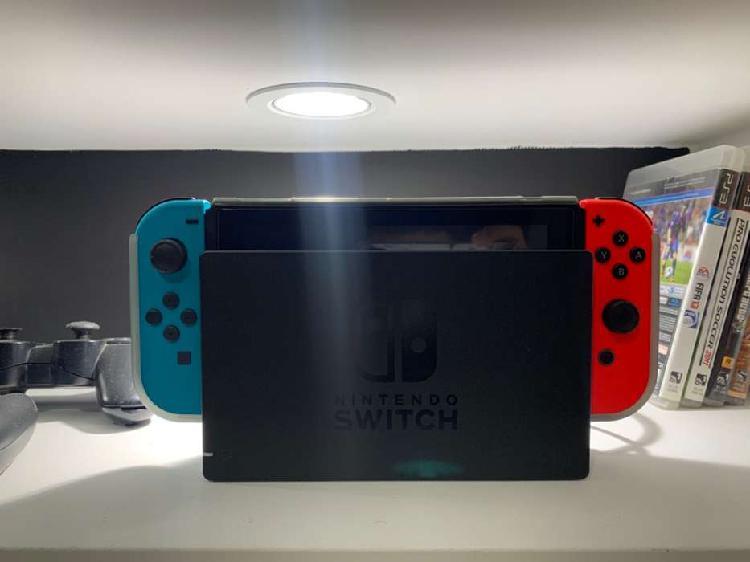 Vendo nintendo switch segunda generación