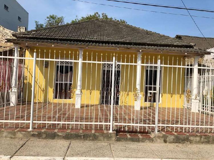 Venta casa lote paseo de bolivar