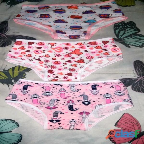 Panty de niña en algodón X 12 unidades 1