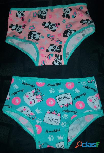 Panty de niña en algodón X 12 unidades 8