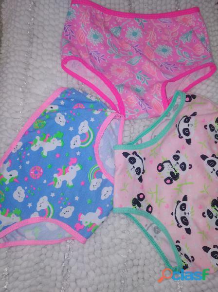 Panty de niña en algodón X 12 unidades 9