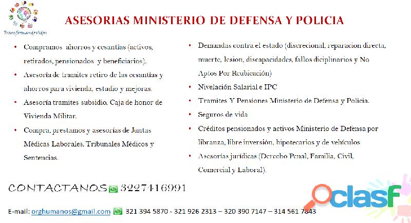 DEMANDAS DE POLICIA NACIONAL