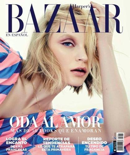 Harper's bazaar en español   febrero 2018. revista de moda