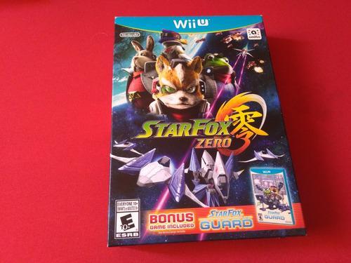 Star fox guard + star fox zero nintendo wii u