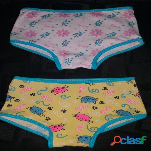 Panty de niña en algodón X 6 unidades 4
