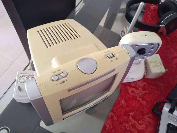 Monitor para bebe b/n 1 camara audio y video usado