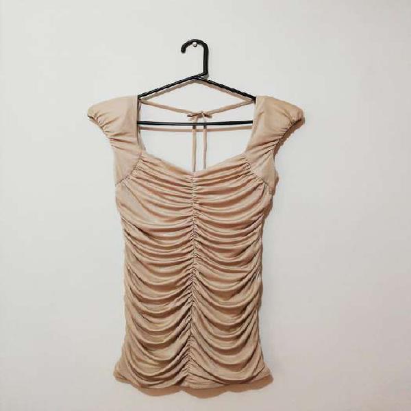 Oferta! vestido corto nuevo marca grass. alta calidad.