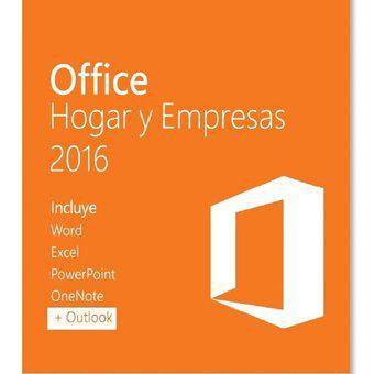 Office hogar y empresas 2016 (digital)