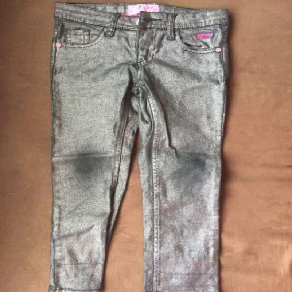 Pantalón talla 6 barbie niña usado