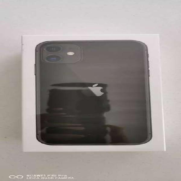 Vencambio iphone 11 128gb, color negro, nuevo caja sellada 1