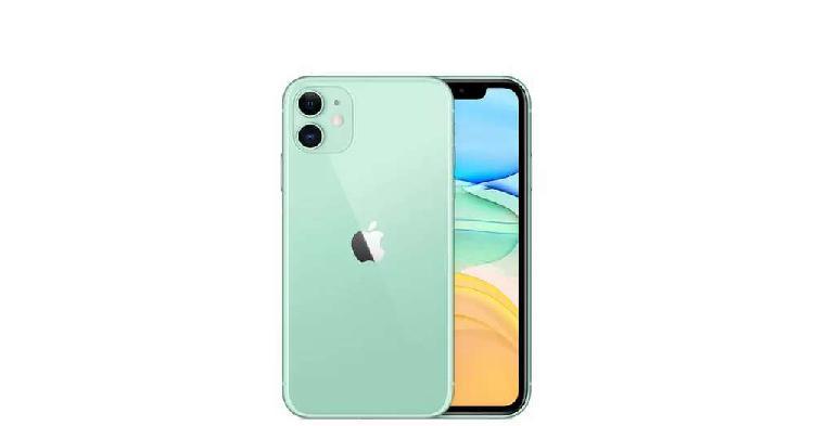 Vencambio iphone 11 64gb verde, nuevo caja sellada garantia