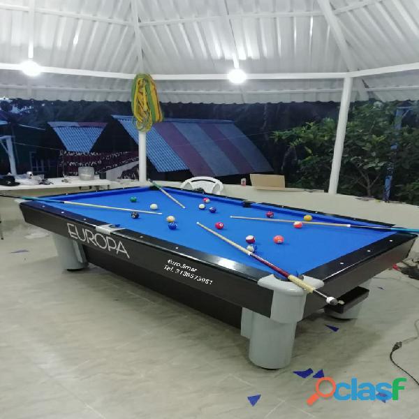 EuroJimar: Fabrica, venta y distribución de mesas de pool y billar. 6