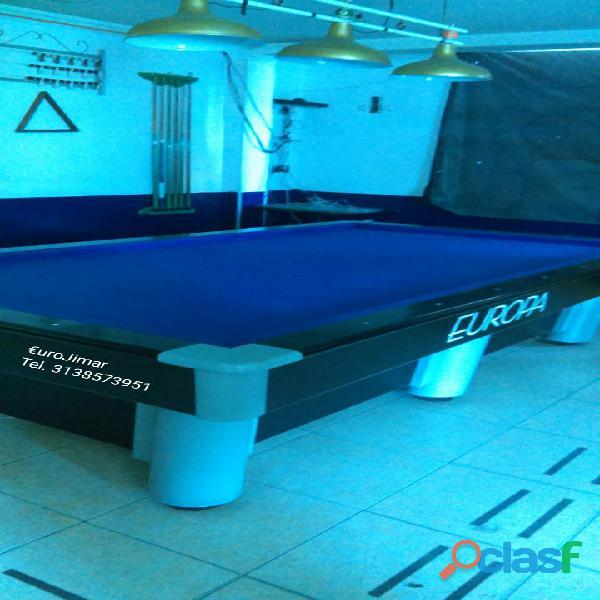 EuroJimar: Fabrica, venta y distribución de mesas de pool y billar. 5