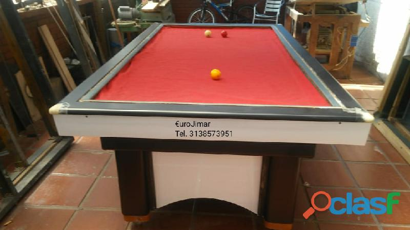 EuroJimar: Fabrica, venta y distribución de mesas de pool y billar. 4