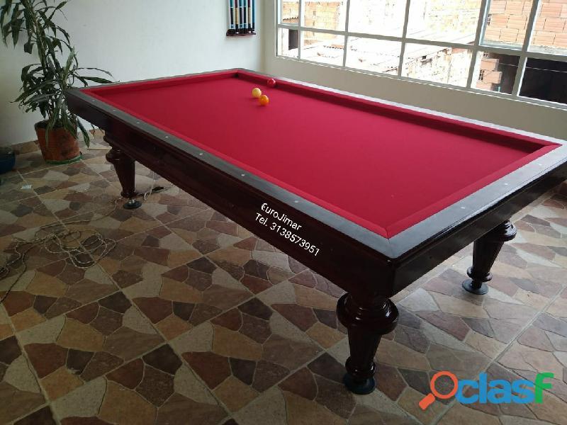 EuroJimar: Fabrica, venta y distribución de mesas de pool y billar. 3