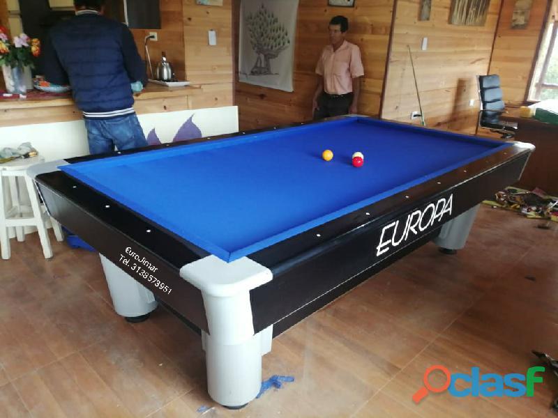 EuroJimar: Fabrica, venta y distribución de mesas de pool y billar. 2