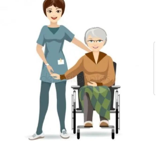 Ofrezco mis servicios en el cuidado de adultos mayores