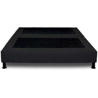 Base cama sencilla 100x190 rem negro