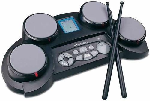 Bateria electrónica infantil medeli dd-61 con baquetas dd61