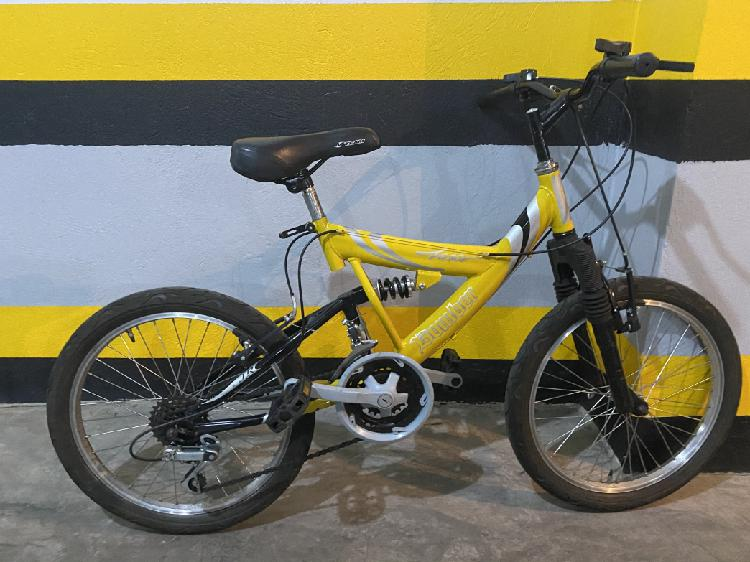 Bicicleta rin 24 amarilla