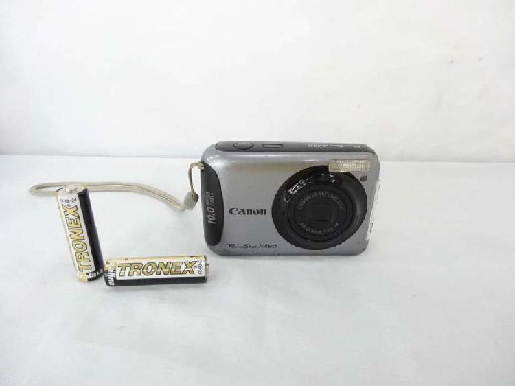 CAMARA DIGITAL CANON POWERSHOT A490 10.0 MPX MEMORIA 4GB CON
