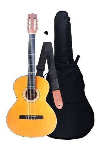 Guitarra acústica con clases on line +forro