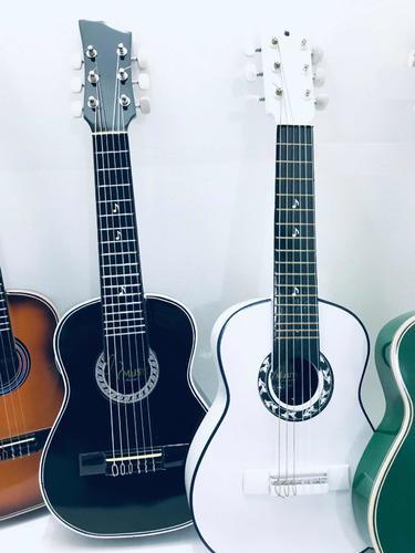 Guitarra niños hasta 9años+ forro+metodo+correa