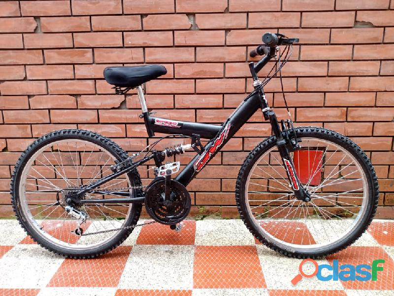 Bicicleta GW todoterreno doble suspension