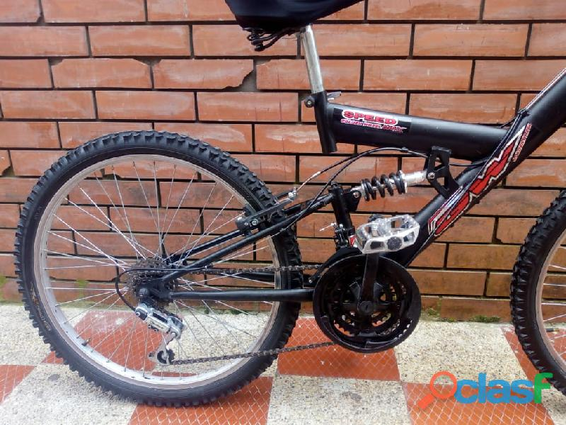 Bicicleta GW todoterreno doble suspension 7