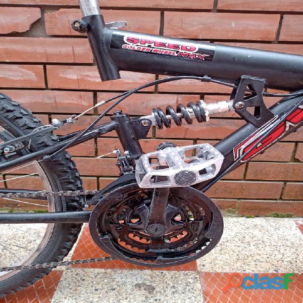 Bicicleta GW todoterreno doble suspension 6