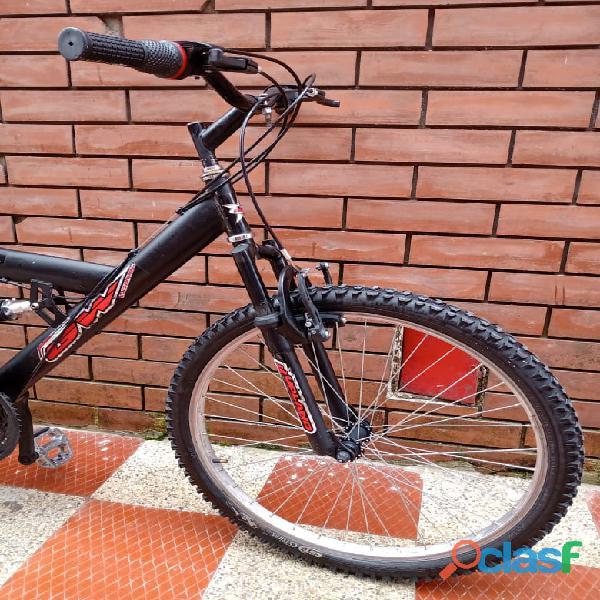 Bicicleta GW todoterreno doble suspension 5