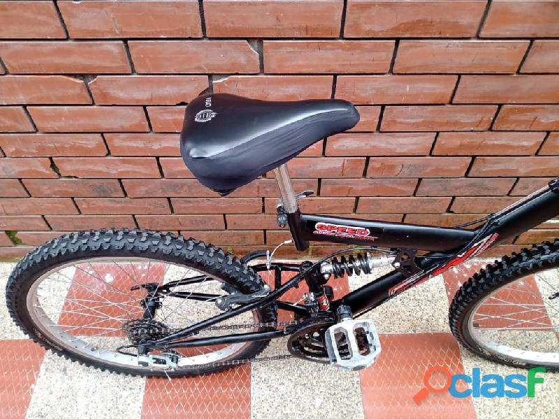Bicicleta GW todoterreno doble suspension 4