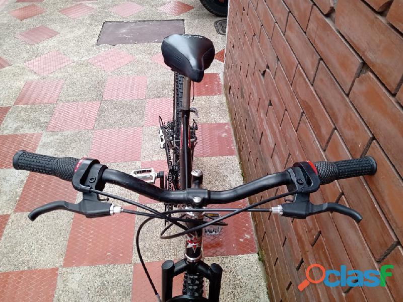 Bicicleta GW todoterreno doble suspension 3