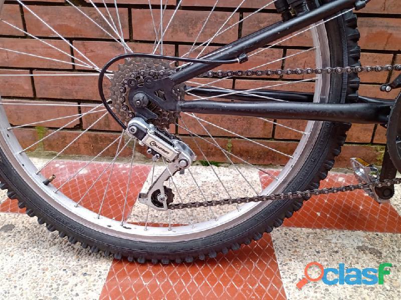 Bicicleta GW todoterreno doble suspension 2