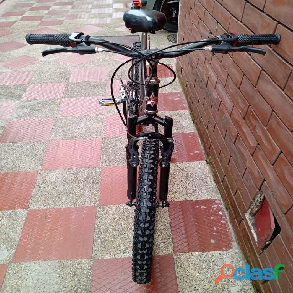 Bicicleta GW todoterreno doble suspension 1