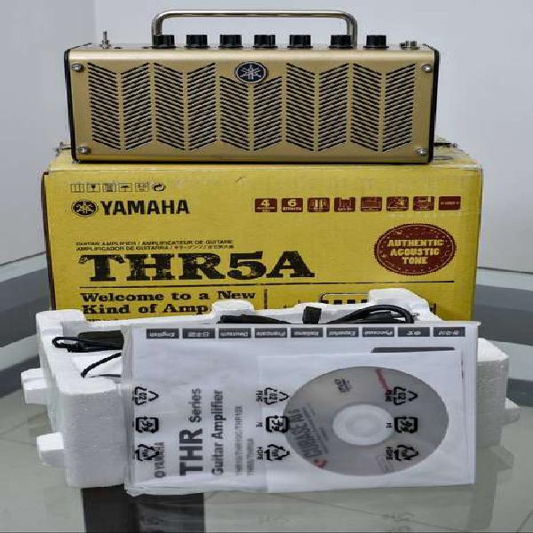 Amplificador yamaha thr5a (para guitarra electroacústica)